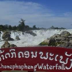 Les chutes de Khonephapheng